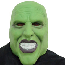 Head Rubber Latex Mask Cartoon Hulk Mask New Scary Mask Hood For Carnival And Party Halloween Adult Size