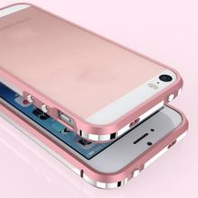"High Quality Luxury Original Bumper For iPhone 5 5S SE 6 6S Plus 5.5 "" Phone Cases With Screws Aluminum Metal Bumper"