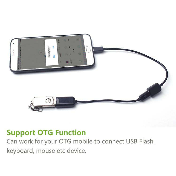 ULT-Best Micro USB 5Pin Male to Female M/F OTG Extension Cable data sync Extender Cabo for Keyboard Mouse USB Flash 10CM 100CM