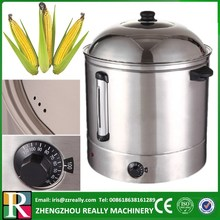 48L CE approved electric sweet corn cooking steamer pot & food bain-marie