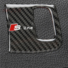 Buy carbon fibre Steel Auto Interior Car Keyhole Decorative Cover 3D Chrome car Sticker AUDI A4 A5 B6 B8 B5 Sline car styling for $8.54 in AliExpress store