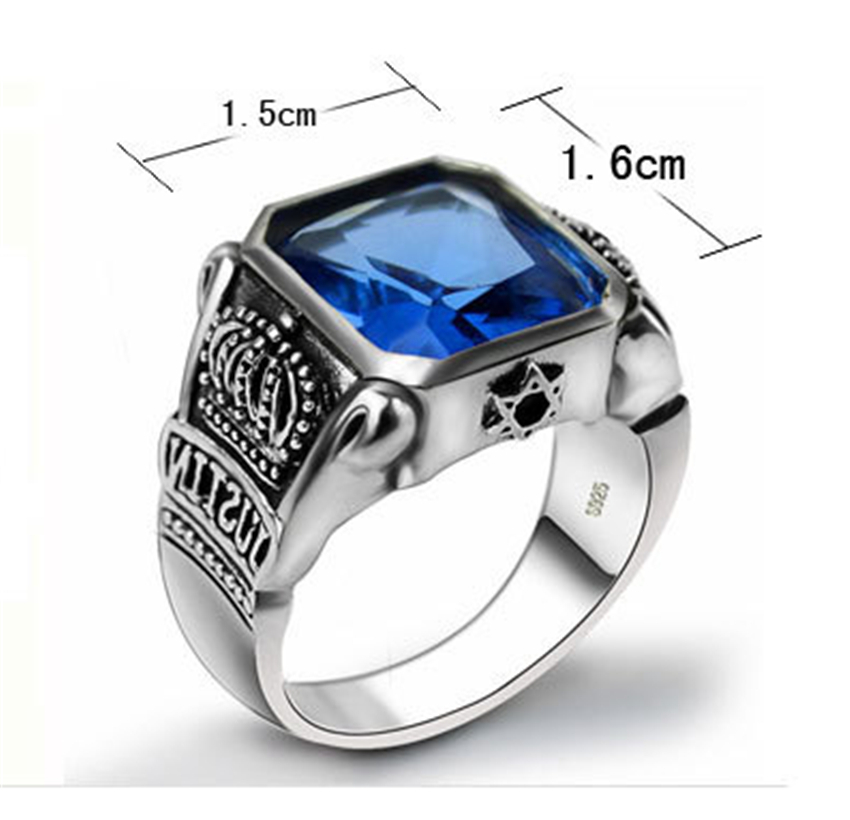 Handmade Silver Rings Antique Style Thai Silver Rings And