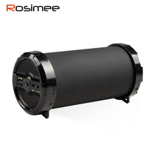 Rosimee Big Bass Outdoor Wireless Bluetooth Speaker Sports Portable Subwoofer Bike music Speakers FM Radio TF USB Mp3 player