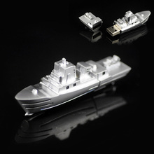 Metal Steamship USB Flash Drive Pendrive Memory Stick Real Capacity 2GB 4GB 8GB 16GB 32GB as Promotional Gift Free Shipping!