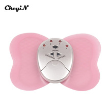 CkeyiN LED Display Mini Electronic Body Muscle Butterfly Massager Slimming Vibration Fitness Full Body Massager Losing Weight