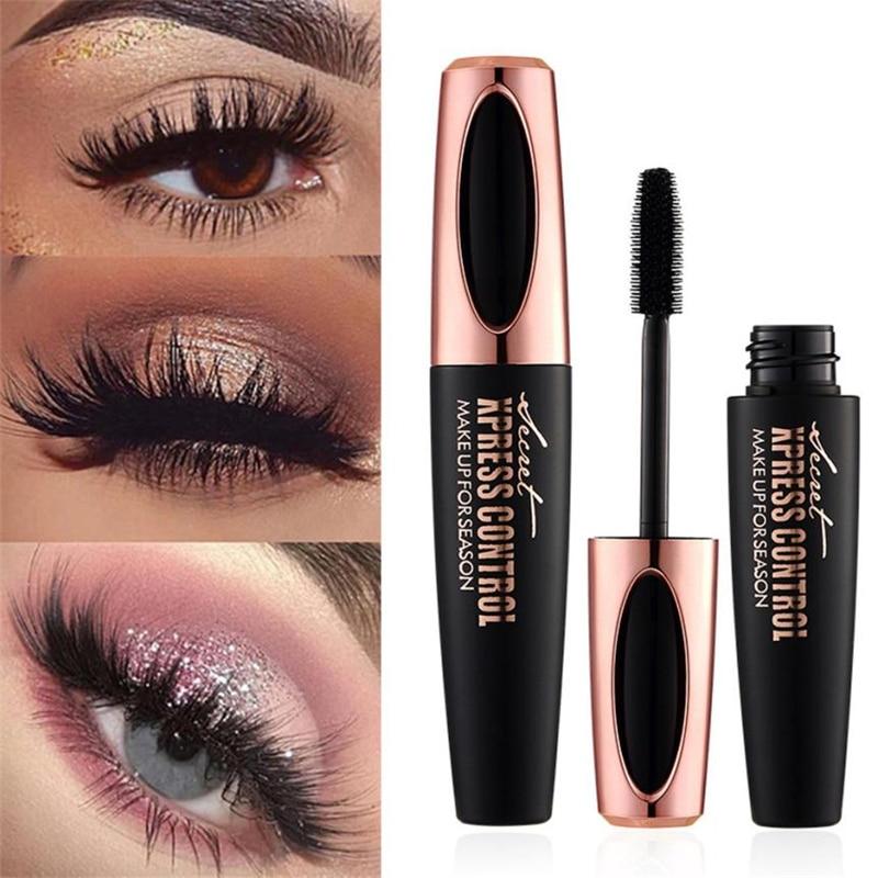 Drop-Shipping-4D-Mascara-Back-eye-mascara-silk-fiber-Make-UP