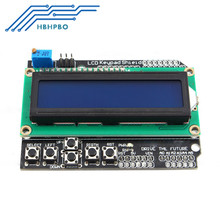 1602 LCD Board Keypad Shield Blue Backlight For Arduino Duemilanove Robot NEW