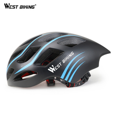 WEST BIKING Ultralight Cycling Helmet 54-60CM Bicycle Helmet Integrally-molded Road Bikes Helmet Capacete Casco Ciclismo Helmets(China)
