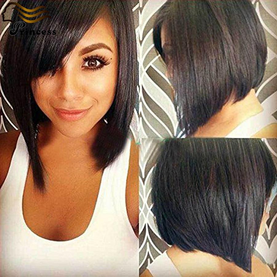 7A Full Lace Wigs Malaysian Virgin Bob Human Hair Short Wigs For Black Women Glueless Human Hair Bob Wig Lace Front Wigs Stock<br><br>Aliexpress