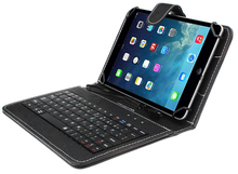 Brand New Hot 7 inch Universal Leather Case Cover With Micro USB Keyboard For OTG Function Tablet PC Suppion