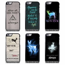 After All This Time Quote Harry potter Cover Case For Iphone 4 4s 5c 5s se 6 6s 7 8 plus x xiaomi redmi note oneplus 3 3T 4X 3s(China)