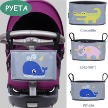 PYETA Free Shipping!Baby Stroller Organizer Diaper Bag Mother Bag Travel Nappy Bag Stroller Bags Cartoon For Accessory Storage