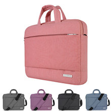 New Laptop Bag 15.6 inch for MacBook Pro Air 13 14 15 inch Solid Notebook Shoulder Messenger Bags Case for Acer Lenovo Dell Men(China)