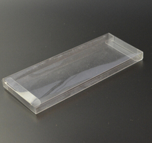 Joy Size:1.5*5*20cm, wholesale pvc box , candy packaging , clear plastic box for cake(China)