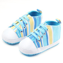 New Cute Baby Newborn Shoes First Walkers Girls Boys Prewalkers Toddlers Hot Fashion Elephant Striped Animal