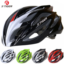 X-TIGER Light Cycling Helmet Bike Ultralight helmet Intergrally-molded Mountain Road Bicycle MTB Helmet Safe Casco Ciclismo