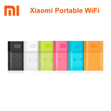 Original Xiaomi 150Mbps 2.4GHz Mi WiFi Portable Adapter Router USB Powered Mini Router/Repeator for Home Office Hotel