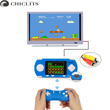 "Consola Portatil Two Players Video Game Consoles for Kids Gift 2.8"" Hundreds Classic Games Double Play with Wifi Gamepad For TV(China)"