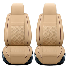 2 pcs Front PU Leather car seat covers For Maybach car accessories car-styling