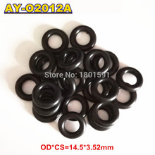 1000units universal viton oring seals OD:14.5*3.5mm for universal bosch Fuel injection injector AY-O2012(China)