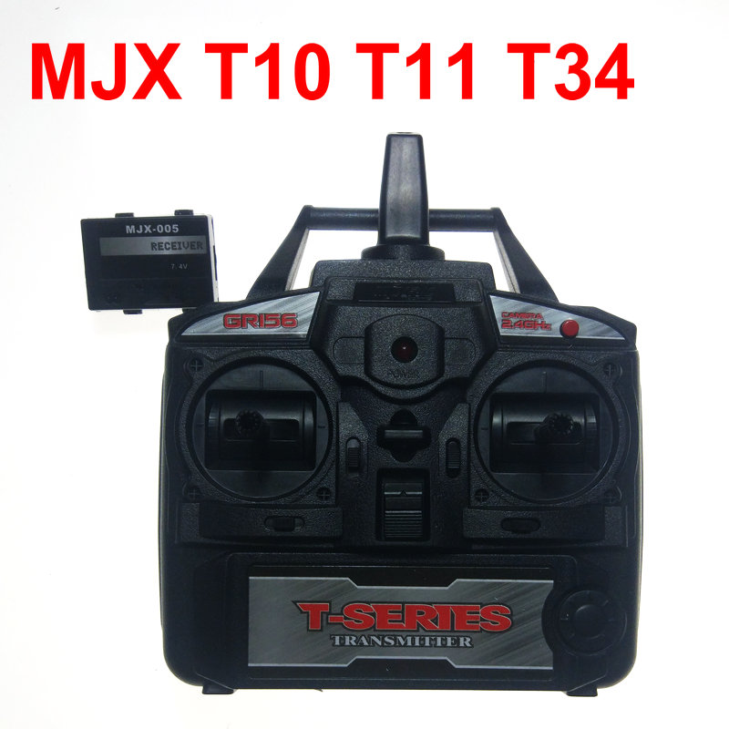 2.4G MJX toy spare parts RC helicopter MJX T-series T10 T11 T34 Receiver PCB Receiving Board And Transmitter<br>