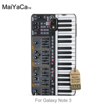 Original Plastic PC Phone case cover  Keyboard Synthesizer Music For  note3 case