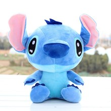 Lovely New 18cm Lilo and Stitch Plush Doll Toys Kawaii Stitch Soft Stuffed Animals Plush Doll Kids Toys Gifts(China)