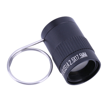 High Definition Mini Portable 2.5X 17.5 Thumb Finger Monocular Telescope for Fishing Hunting Camping Pocket Outdoor Tools(China)