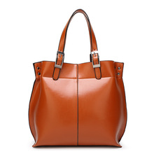 Luxury Womens Leather Tote Handbags Fashion Vintage Tote Shoulder Bag Popular Best Designer Handbags Outlet(China)