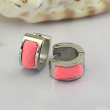 ear clip with pink zircon   fashion jewelry   manufacturers imitation jeweller online fashion jewelry fashion jewelry india