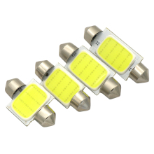 31mm 36mm 39mm 42mm FESTOON 12 Chips COB LED Bulb C5W C10W Car Dome Light Auto Interior Map Roof Reading Lamp DC12V White Color(China)