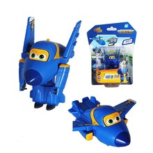1PCS 2015 Best selling Super Wings planes cartoon super wings Transformation toys Action Figure toy for children Christmas gift(China)