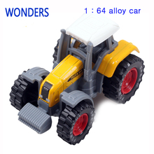 New arrival Tractor toy Alloy Rural Truck Utility Terrain Vehicle Farm Alloy Tractor Truck Model Child Metal Model Farm Vehicles(China)
