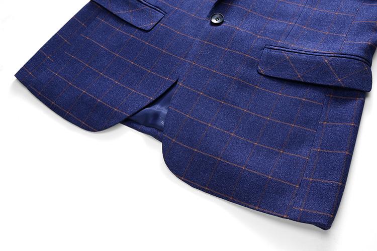 fashion lattice suits men