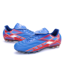Brand New DMX Football Boots 2017 Breathable Soccer Shoes Women Men Football Sneakers Soccer Boots Outdoor Training Shoes(China)