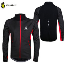WOLFBIKE Thermal Windproof  Rainproof Winter Bike Cycling Jackets Maillot Ciclismo Bicicletas Sportswear Bicycle Jersey Clothes