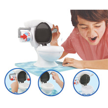 Hot Fun Game Toy Toilet Trouble Funny Kids Game Joke Toys For Party Washroom Tricky Children Gifts(China)