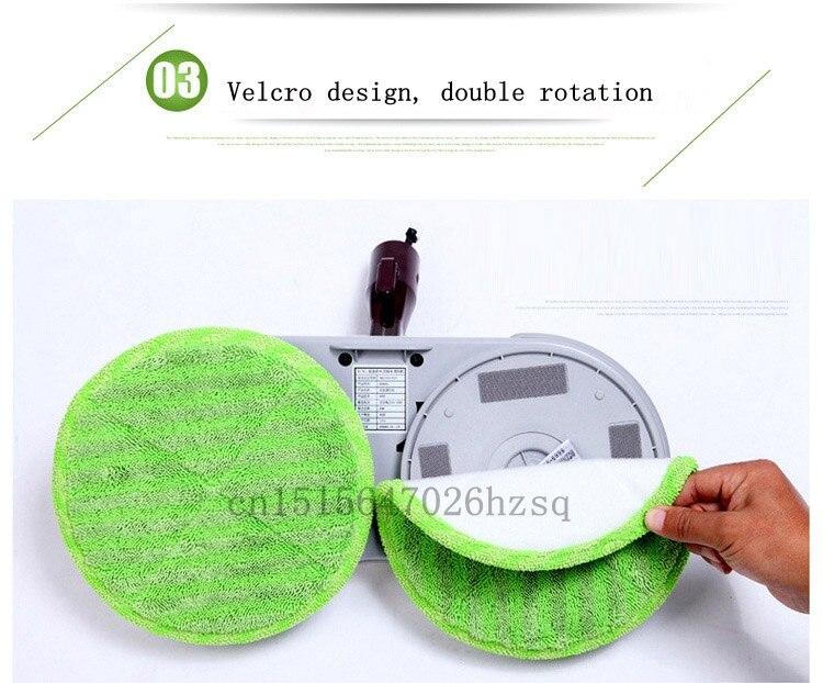 JIQI household electric floor cleaning machine multifunction handheld mop