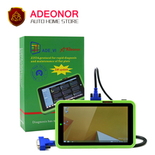 New Genuine ADEONOR ADE VIS OBDII AUTO Diagnostic Tool EPB DPF TPMS SRS Full System Code Scanner Better than Launch X431 Diagun