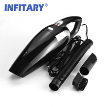 Portable Car Vacuum Cleaner Powerful Sucktion Wet And Dry Dual Use Auto Cigarette Lighter 120W Car Electrical Clean Machine(China)