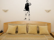 HWHD os1699 Manuel Neuer Goalkeeper Football Player Decal Wall Sticker Picture free shipping  free shipping