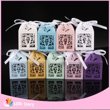 25pcs/pack  Paper Chocolate Packaging Lace Vine Candy Box Party Favors Wedding Supplies Party Decoration Gifts For Guests