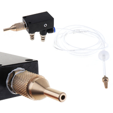 Buy Precision Mist Coolant Lubrication Spray System Flexible Pipe Check Valve Metal Cutting Engraving Cooling Machine