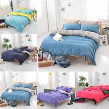 100% Cotton bed kids Adult bedding sets colorful bedding cover set Quilt cover Pillow case sheets Korean Style mini cute L50