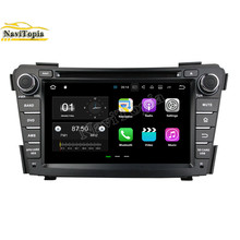 NaviTopia 1024*600 2G+16G Android 7.1 Car DVD GPS for Hyundai I40 2011 2012 2013 Auto Car PC Bluetooth Wifi Radio Stereo(China)