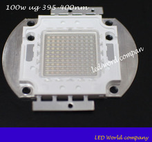 free shipping!  factory price 5pcs/bag 395nm led chip ,uv 100w,100w 395nm chip