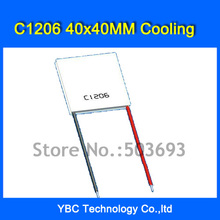 The strong C Series C1206 Telluride Semiconductor Cooling Cooler Peltier 40 * 40mm DC12V