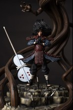 MODEL FANS IN-STOCK NARUTO Dstudio 56cm Uchiha Madara Wood Dragon GK resin made contain led light figure toy for Collection(China)