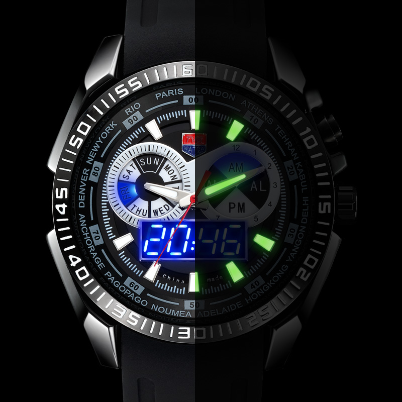 TVG Watch Men Digital Sports Watches Luxury Brand Silicone Strap Fashion Quartz Movement Mens Military Wristwatch Watches<br><br>Aliexpress