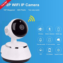 720P HD Wireless Baby Monitor Portable WiFi IP Smart Night Vision Baby Home Viewe Audio Record Surveillance Home Security Camera(China)